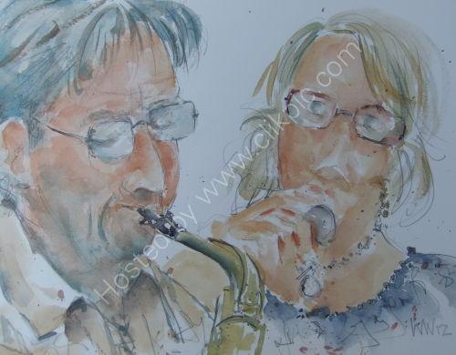 Dave & Fran Lee Burgundy's 12 July