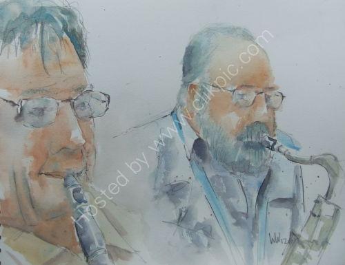 Dave Lee & Steve Andrews Burgundy's 13 Sept 2012