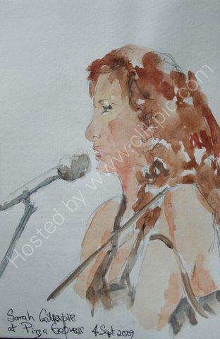 Sarah Gillespie, 4 Sept 2009