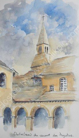 Cloitre du couvent des Augustins 2010