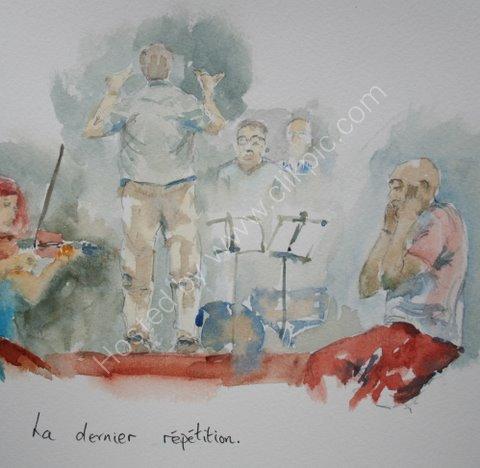 La dernier repetition, St Blaise du Buis, 2010