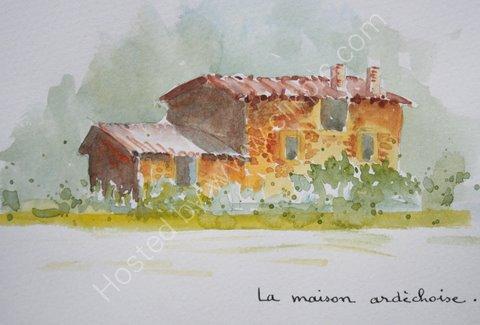 La maison ardechoise, 2007
