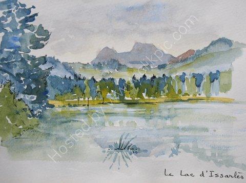 Le Lac d'Issartes, Ardeche, 2007