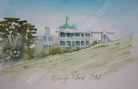 Burgh Island Hotel, Devon, England