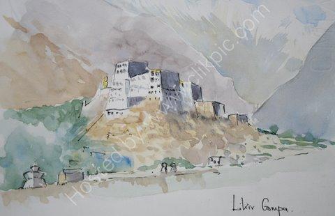 Likir Gompa, Ladakh