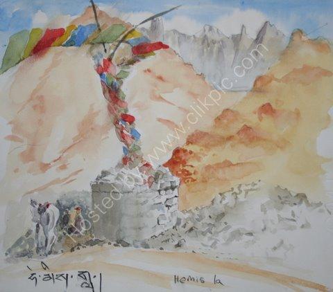 Hemis La, Ladakh