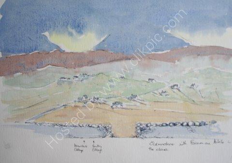 View towards Ben Stack & Arkle, NW Scotland