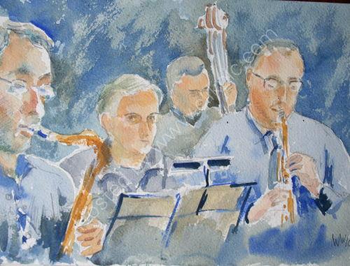 Lez Bull Jazz Band at Burgundy's Oct 2010