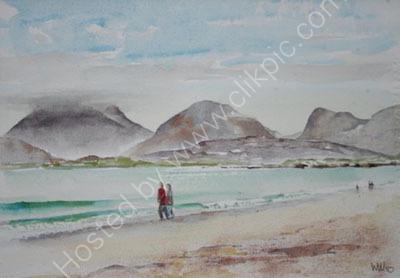 Luskentyre Beach and North Harris, Western Isles, Scotland