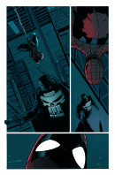 Punisher Spidey page 2 colour