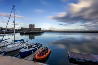Carrickfergus Castle and Harbour