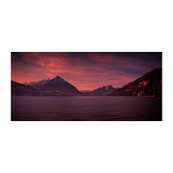 Lake Thun sunset