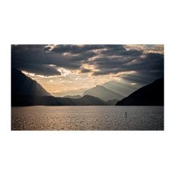 Lake Thun dusk