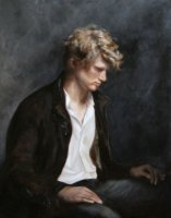 Stephen - Oil on canvas 100 x 80 cm