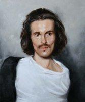 Davide - oil on canvas 60 x 50 cm