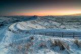 Morning snow on the Great Ridge
