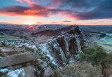 Sunrise over the Roaches Lower Tier