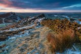 Winter morning the Roaches
