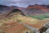 The Langdale Pikes from High Side
