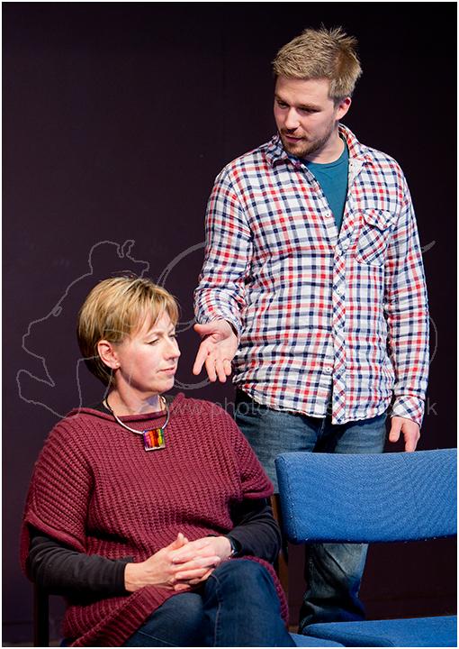 Maggie Hope as Nancy & Alexander Mircica as Jeremy