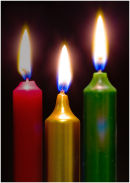 Candles: Three Wise Men