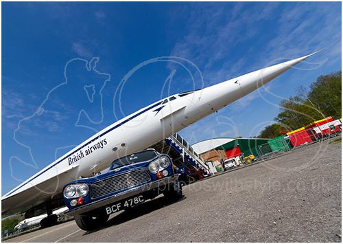 Gordon Keeble GK1 & Concorde