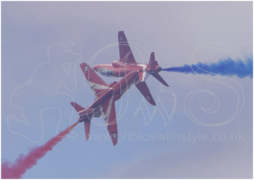 Red Arrows Formation Display