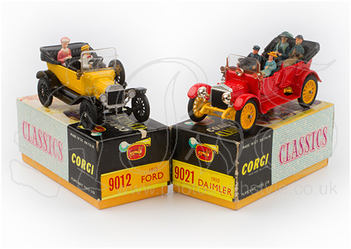 Corgi Classics: Ford Model T & Daimler