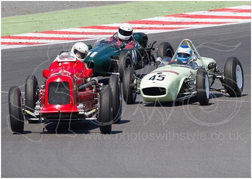 Maserati 6C34-3024, Cooper T41 & Lotus 18