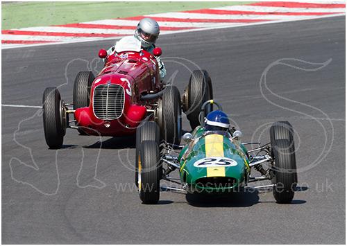 Maserati 6CM & Lotus 25