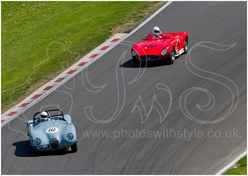 Jaguar C-Type & Maserati 300S