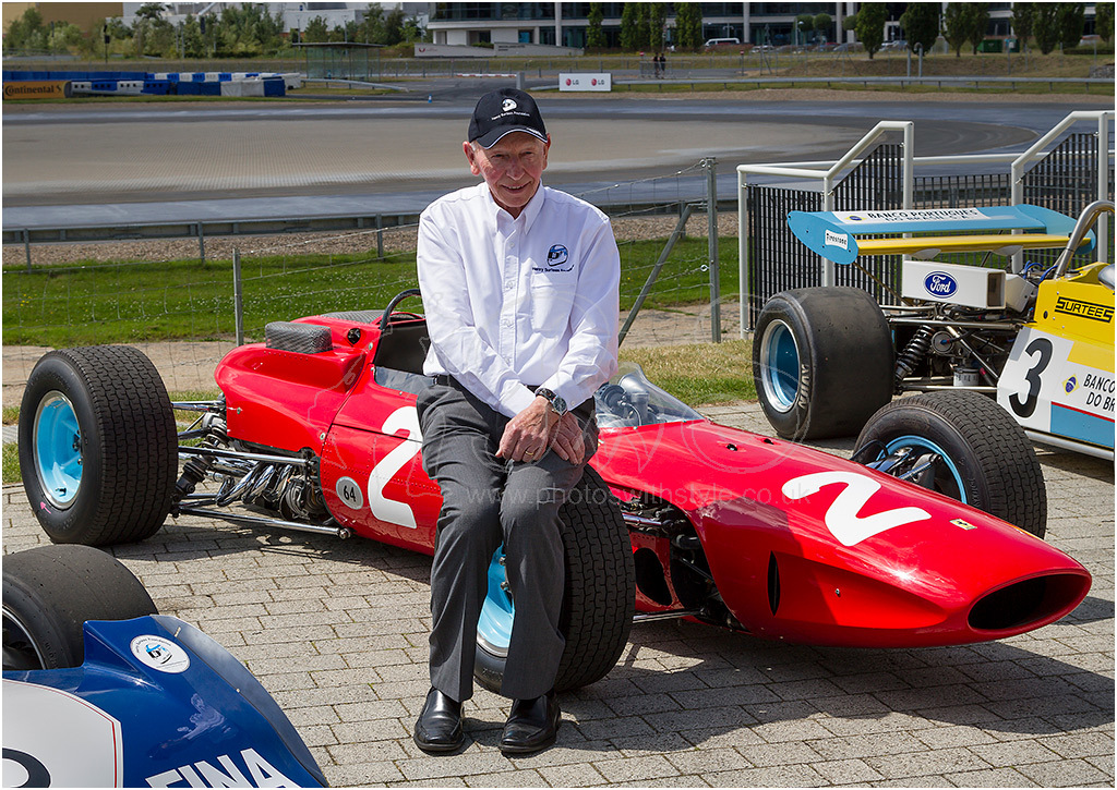 John Surtees OBE and Ferarri 158
