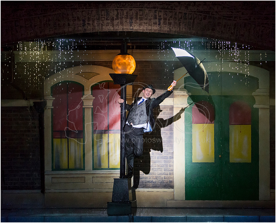 Don Lockwood Singin' in the Rain