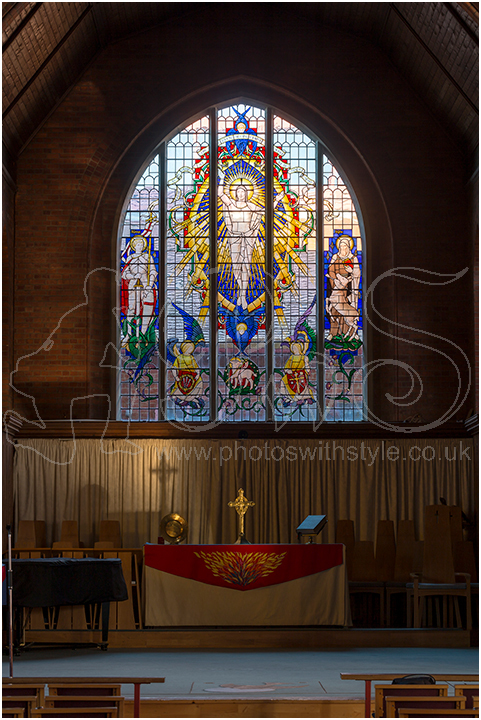 East Window at St George's Church