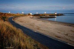 Burryport Lighthouse lines