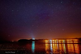 Llansteffan Castle and Stars