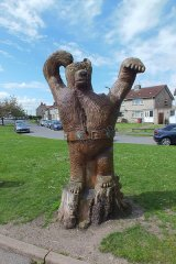 The Barlborough Bear