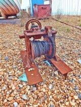 Beach winch, Deal, Kent