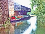 'Birdswood' moored at the Cromford Canal Basin
