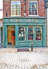 Burns Hotel, Market Street, York