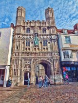 Cathedral Gate, Canterbury, Kent