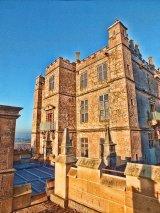 Forecourt & entrance to Little Castle, Bolsover Castle