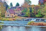 LDLW015 - riverside home on River Teme