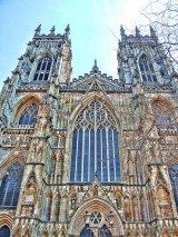 North towers & door, York Minster