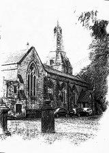 Rear of Bolsover Church, Bolsover, Derbyshire