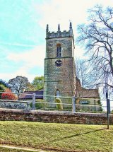 St James the Greater Church tower, Barlborough