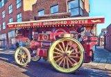Steam engine 'Victoria' at Melton Mowbray