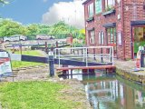 Tapton Lock, Chesterfield Canal, Derbyshire