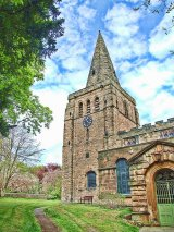 Tower & Spire, Eckington Church, Derbyshire