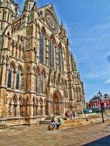 West side of York Minster